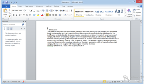 Pasting into word using Ctrl+V (with auto unbreak)