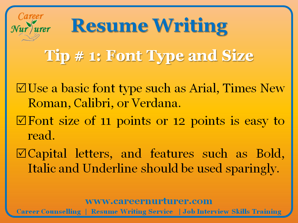 simple tips to build an effective resume for freshers
