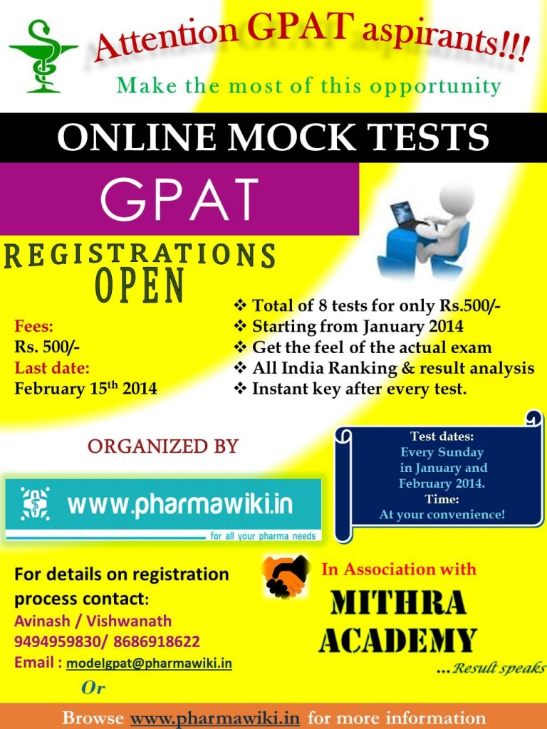 Online GPAT test series
