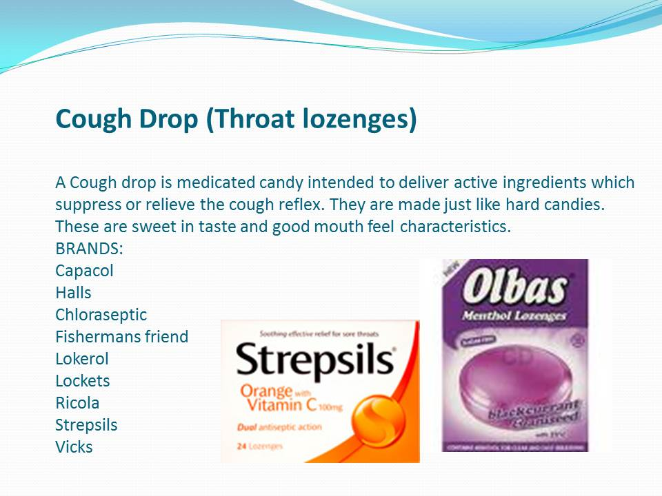 PPT] Lozenges - Drug Delivery Vehicles - Pharmawiki in