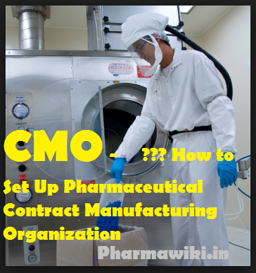 CMO - How to Set Up Pharmaceutical Contract-Manufacturing-Organization