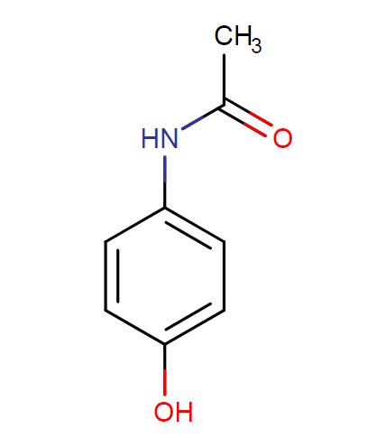 Paracetamol Structure Acetaminophen Chemical Structure