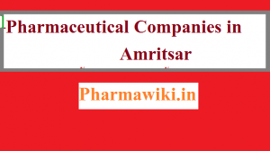 Pharmaceutical Companies in Amritsar List || Top Pharma Manufacturing Industries