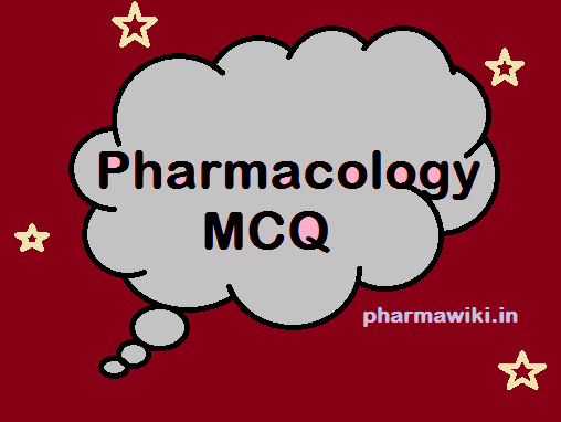 Pharmacology MCQ for NEET PG GPAT PHARMACIST Nursing Questions with Answers pdf Book