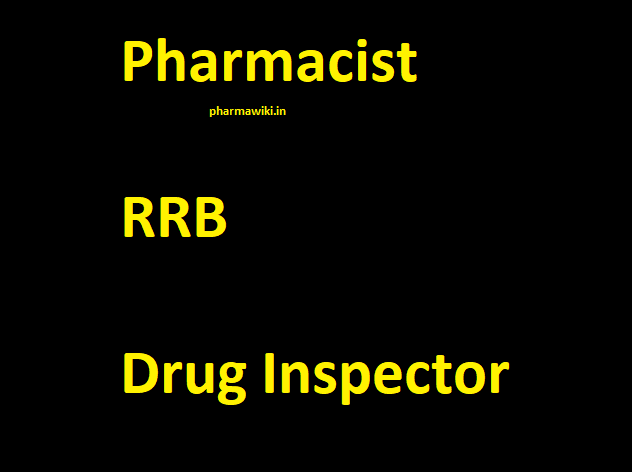 Pharmacist RRB Drug Inspector - General Paper 150 Old Q & A